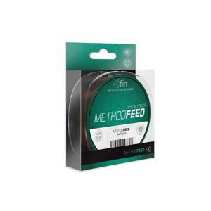 Fin Vlasec Method Feed Hnědý - 0,14mm 4lbs 5000m