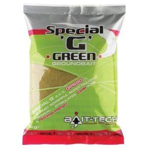 Bait-Tech Krmítková směs Groundbaits Special-G Green 1kg