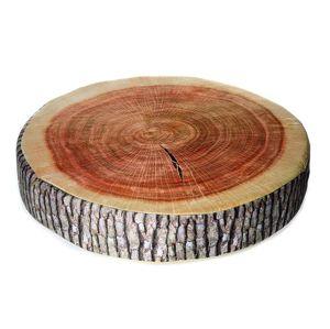 Gaby Polštář Dřevo kulaté 40x15 cm