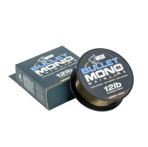 Nash Vlasec Bullet Mono Brown 1000m - 0.40mm