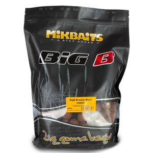 Mikbaits Boilie Big - BigB Broskev Black pepper 20mm 2,5kg