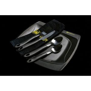 RidgeMonkey Jídelní set SQ DLX velký talíř