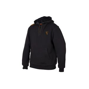 Fox Mikina Collection Black & Orange Hoodie - L