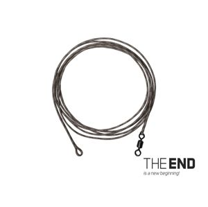 Delphin Návazec The End Leadcore + swivel 3ks 1m