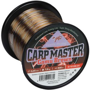 Giants Fishing Vlasec Carp Master Camu Brown 600m - 0,25mm/7,6kg