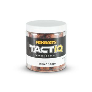 Mikbaits Měkčené pelety TactiQ Oliheň 250ml - 10mm