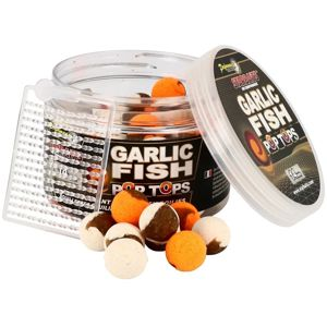 Starbaits Vyvážené boilie Pop Tops Garlic Fish 60g - 20mm