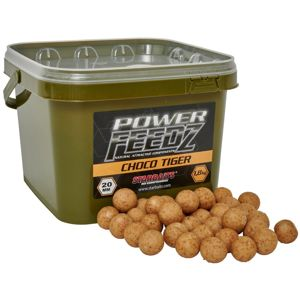 Starbaits Boilies Power FEEDZ Choco Tiger 1,8kg - 20mm