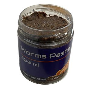 Mastodont Baits Pasta 200ml - Worms