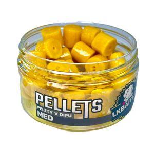 LK Baits Pop-up Pelety v dipu Med 40g