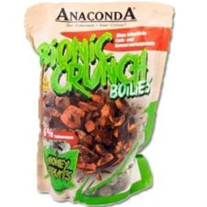 Saenger Anaconda Boilies Bionic Crunch Bacon Bull Räucherspeck & Energy-1 kg 20 mm