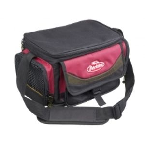 Berkley Taška SYSTEM BAG 2015 RED-BLACK M (+4krabičky)