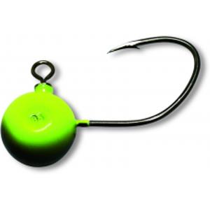 Black Cat  Jiggová Hlavička Fireball Zelená 7/0-85 g