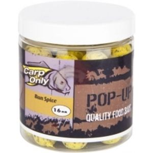 Carp Only plovoucí boilies pop up 80 g 16 mm-Garlic Cake