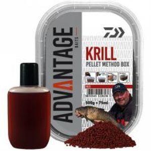 Daiwa Pelety Method Box Red Krill 500 g