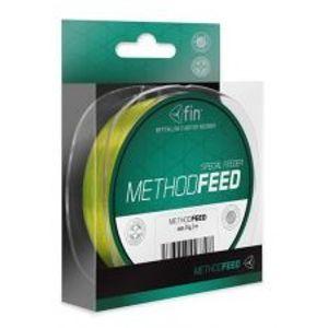 Fin Vlasec Method Feed Fluo Žlutá 150 m-Průměr 0,22 mm / Nosnost 9,2 lb