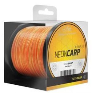 Fin Vlasec Neon Carp Žluto Oranžová 1000 m-Průměr 0,35 mm / Nosnost 20,4 lb