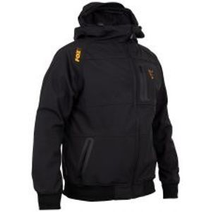 Fox Mikina Collection black/orange shell hoody-Velikost M