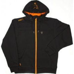 Fox Mikina Heavy Lined Hoody Black Orange-Velikost L