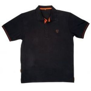 Fox Polokošile Black Orange Polo Shirt-Velikost S
