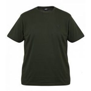 Fox Tričko Green Black Brushed Cotton T Shirt-Velikost XL