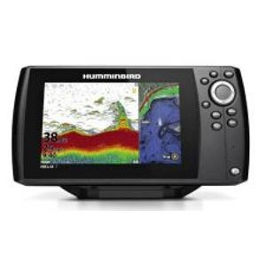 Humminbird Helix 7x Chirp GPS G3N + Autochart Zero Lines Map Card