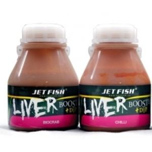 Jet Fish liver booster + dip 250 ml-Natural