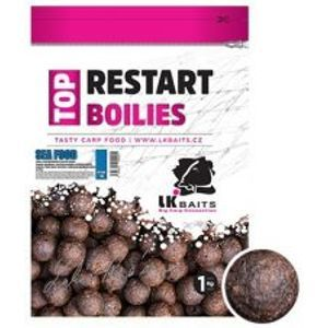 LK Baits Boilie Top ReStart Sea Food-1 kg 20 mm