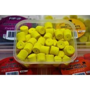 LK Baits Pelety Fluoro Hook Pellets 150 ml-pineapple/n-butyric 12 mm