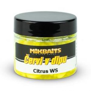 Mikbaits Červi v Dipu 50 ml-Citrus WS