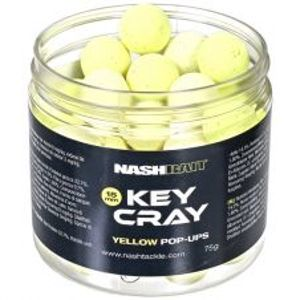 Nash Plovoucí Boilies Key Cray Pop Ups Yellow-20 mm 75 g