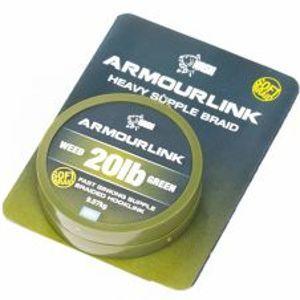Nash Šňůrka Armourlink Weed 20 m-Nosnost 25 lb