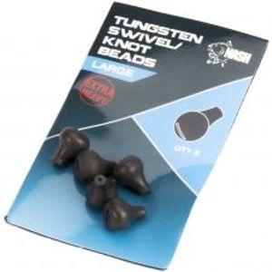 Nash Zarážka Na Obratlík Tungsten Swivel Beads-Small