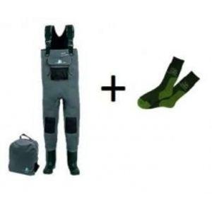 Behr Neoprenové prsačky 5 mm + ponožky COOL MAX zdarma - filcová podrážka-Velikost 44/45