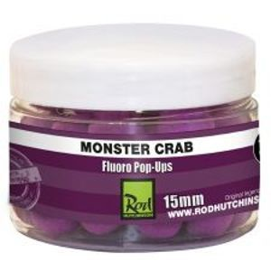 Rod Hutchinson Fluoro Pop-Up Monster Crab With Shellfish Sense Appeal-15 mm