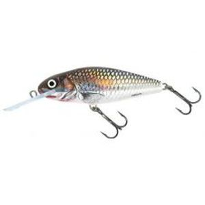 Salmo Wobler Perch Deep Runner Holographic Grey Shiner-8 cm 14 g