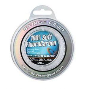 Savage Gear Florocarbon Soft Fluoro Carbon 50 m-Průměr 0,26 mm / Nosnost 4,7 kg