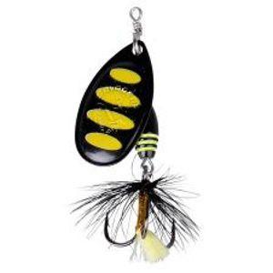 Savage Gear Třpytka Rotex Spinner Black Bee-Velikost 2 4 g