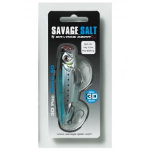 Savage Gear Wobler 3D Minnow Pop Blue Sardine-6,6 cm 8 g