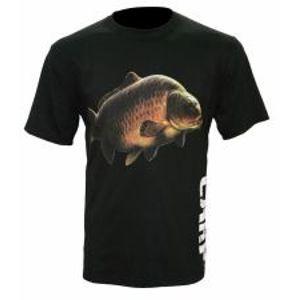 Zfish Tričko Carp T-Shirt Black-Velikost L